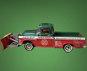 FRANKLIN MINT 1:24 2003 CHRISTMAS LIMITED EDITION 1955 PLOW TRUCK 778/5000