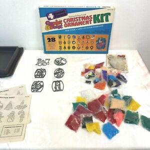 Makit & Bakit Christmas Ornaments Kit 6 REMAINING w/ Extra Crystals Vintage AR2