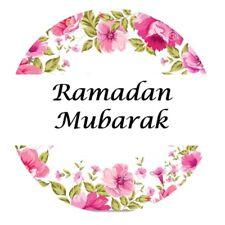 35 Ramadan Mubarak Stickers Muslim Islam Floral 635 Decorations Celebrations