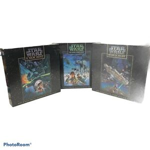 Star Wars Trilogy Empire Jedi (1995) Milton Bradley 550pc Puzzle Set All Sealed