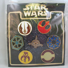 Disney Trading Pins STAR WARS EMBLEMS May the price be with you Booster Set of 7
