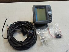 Lowrance X52 Fish Finder with Transducer cables untested
