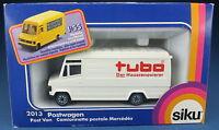 SIKU 2013 - Mercedes 809 Transporter + 12 Pakete - tubo WERBEMODELL - NEU in OVP