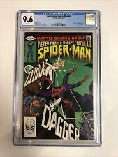 Spectacular Spider-Man (1982) # 64 (CGC 9.6 White ) | 1st app Cloak & Dagger