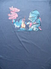 T-Shirt - Knight by Campfire - The Only Way Is Death