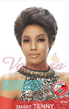 Vanessa Synthetic Short Elegant Soft Curl Slick Back Style Smart Tenny Wig