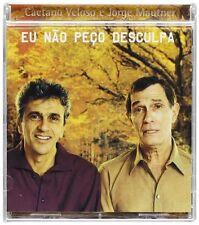 CAETANO VELOSO JORGE MAUTNER - Eu nao peco desculpa - CD 2002 SIGILLATO SEALED