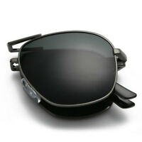 HD Polarized Folding Sunglasses Men's Pilot Foldable Driving Eyewear Sun Glasses