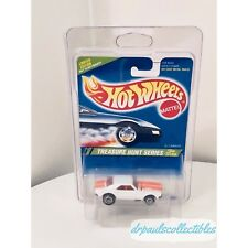 "Hot Wheels '67 Camaro White 1995 Treasure Hunt ""Grail Car"" Brand New W/Protector"