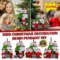 2020 Xmas Christmas Tree Hanging Ornament Personalized Family Ornaments Decor