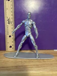 "3.75"" Marvel Universe 3 3/4 Scale Action Figure Silver Surfer Galactus Herald"