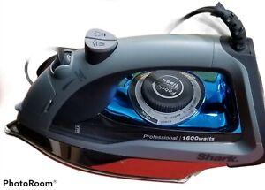 Shark Professional Model GI405 Stainless Steel Iron 1600W Blue
