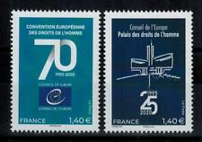 """(b28) timbres France nouveautés année 2020 """"service"""""""