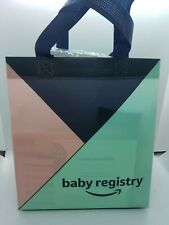 Amazon Baby Registry Sample Products Bag - New Open box, Diapers, Bottlles, ect