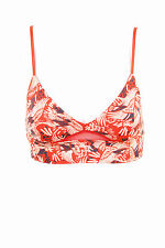 Free People Women's New On The Daily Printed Soft Bra Multicolor Size XS BCF66