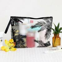 Makeup Pouch Zipper Toiletry Holder Pencil Pen Case Cosmetic Bag Travel 2018