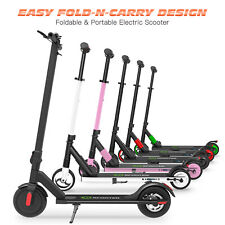 Patinete Plegable eléctrico Monopatín Metal Kick E-Scooters 2 Ruedas Patin 250W
