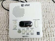 AT&T 1740 Digital Answering Machine System 60 Minutes Recording Time Date Stamp