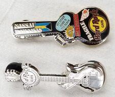 Hard rock cafe Nassau Bahamas lot of 2 pins guitar limited 750 rare pair