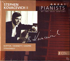 Stephen Kovacevich 2: Great Pianists of the 20th Century 2cd Bartok Stravinsky