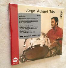 CD JORGE AUTUORI TRIO - JORGE AUTUORI TRIO VO. 1 JAZZ BOSSA