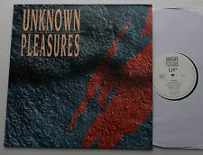 UNKNOWN PLEASURES Up FRENCH electronic goth dark wave LP BOOM RANG (1990) NEW!