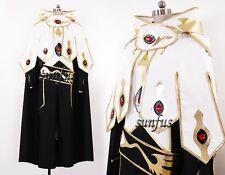 Code Geass R2 Suzaku Kururugi Emperor Version 2 Cosplay Costume Costumes