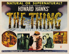 The Thing from another world Horror movie poster print #127