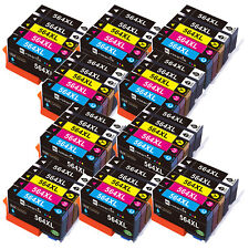 50Pack 564 Ink Cartridges for HP 564XL Photosmart 7525 5515 5520 5510 C410 C510
