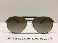 New Michael Kors Women's Zanzibar Gold/Black MK5001 100413 Sunglasses
