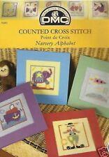 Nursery Alphabet cross stitch chart Pattern livret DMC