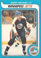 1979-80 O-Pee-Chee Barry Melrose Rookie #386