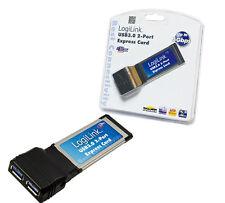 LogiLink Schnittstelle Express Card 2x USB 3.0
