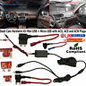 USB DC Charger Power Kit Hard Wire Mini + Micro For Car Dash Camera DVR Recorder