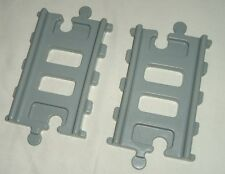2x LITTLE TIKES SPARES STRAIGHT RAILWAY PIECES from the PEAK ROAD N RAIL SET