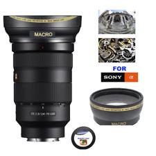 82mm ULTRA WIDE ANGLE MACRO HD 16K LENS FOR Sony FE 24-70mm f/2.8 GM Lens