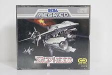 Silpheed Sega Mega CD Drive PAL Komplett CIB sehr selten