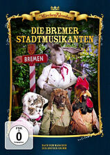 LA BREMEN MÚSICOS DE CIUDAD Märchen Clásicos DVD BRD Nuevo