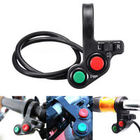 7/8 Inch Handlebar Motorcycle Scooter Head/Turn Signal Light/Horn Switch Button