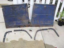 1941 1942 1946 CHEVY PICKUP TRUCK DOOR PANEL SET 41 42 46 GMC PICK UP PANELS