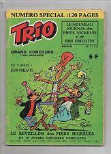 TRIO Pieds Nickelés mensuel n°11 SPE 1976, numéro spécial 120 pages