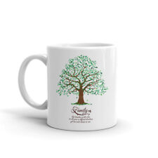 Genealogy Family Tree Roots and Branches 11 Oz. Ceramic Coffee Mug w/ Gift Box
