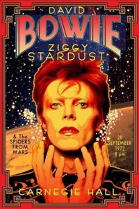David Bowie Ziggy Stardust Vintage Poster A5