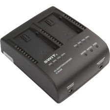 SWIT S-3602B Dual Charger/Adapter for Panasonic VW-VBG6 Battery