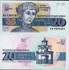 Bulgarie - Bulgaria billet neuf de 20 leva pick 100 UNC