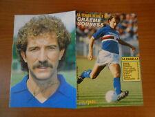 GRAME SOUNESS la scheda segreta allegato all'intrepido 1985