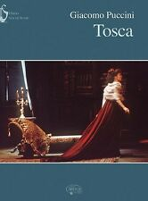 Giacomo Puccini: Tosca (Vocal Score) Piano & Vocal Sheet Music Vocal Score