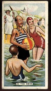 Tobacco Card, Ardath, FIGURES OF SPEECH, 1936, In the Swim, #27