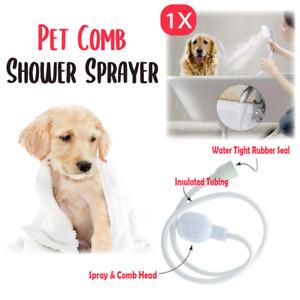 Single Tap Pets Shower Spray Hose Head Dog Bath Tub Washing Holder Attachment