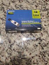 Cisco Linksys WUSB54GC Compact Wireless G USB Adapter Internet Brand New